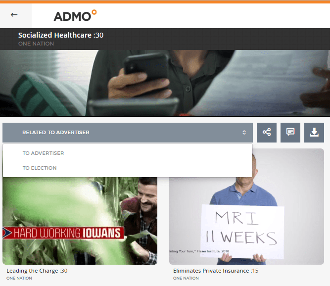 admo related ads